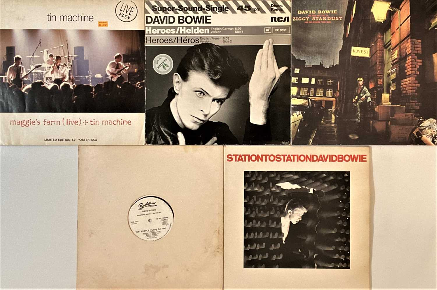 """DAVID BOWIE - CD COLLECTION PLUS LP/12"""" SELECTION - Image 5 of 5"""