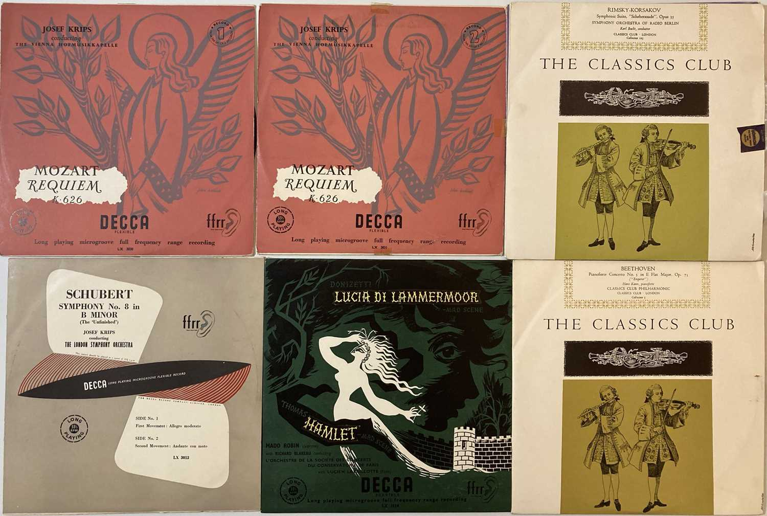 CLASSICAL - LP/78 COLLECTION - Image 2 of 12