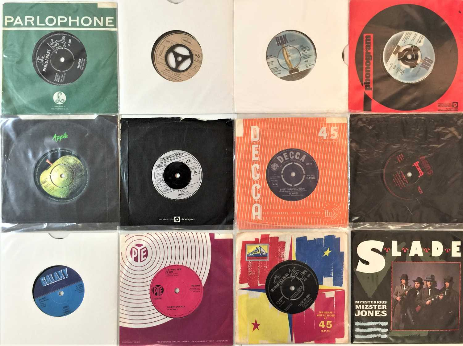"""60s/80s CLASSIC ROCK & POP 7"""" COLLECTION - Image 3 of 4"""
