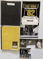 THE WHO - TOUR ITINERARIES AND PHOTOGRAPHS.