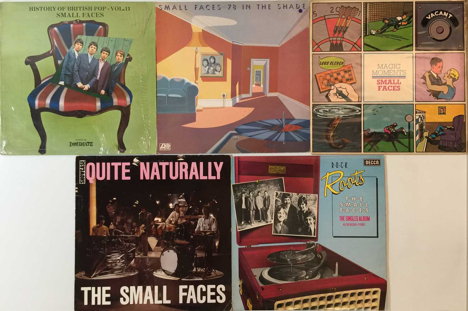 THE ANIMALS/ FACES/ SMALL FACES - LPs - Image 3 of 3
