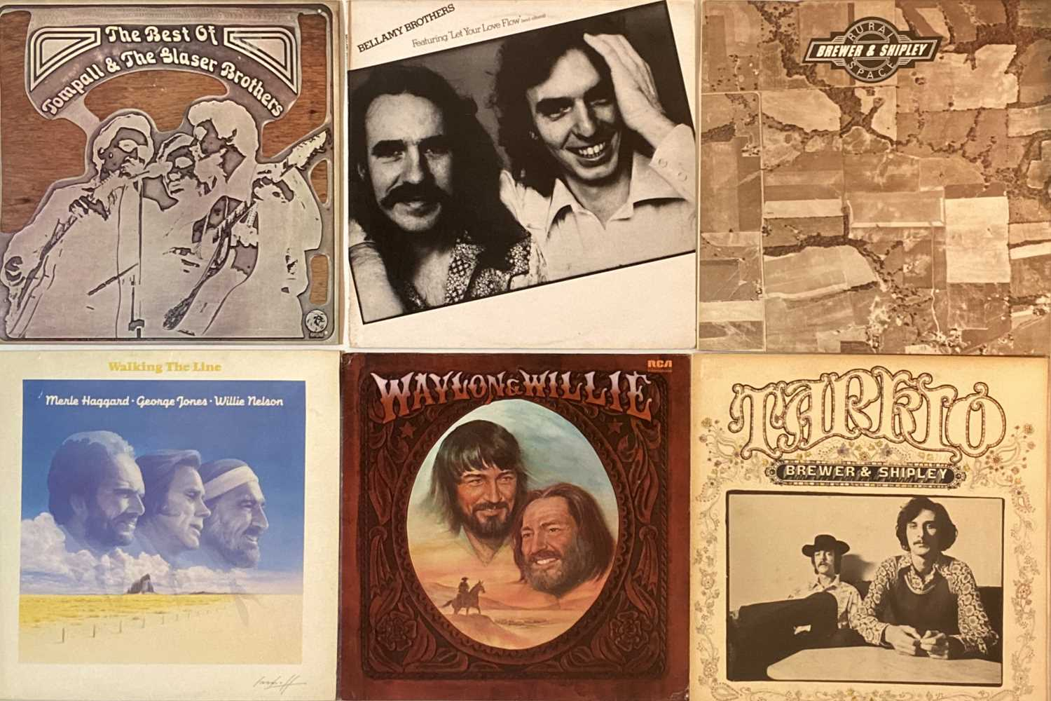 COUNTRY ROCK/R&R/AOR - LPs - Image 6 of 6