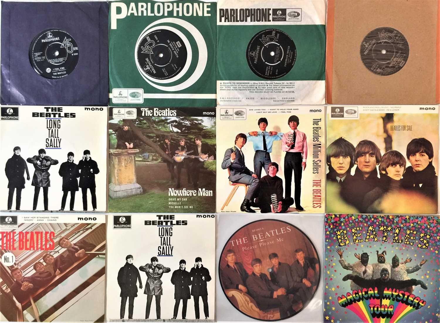 """THE BEATLES - 7"""" COLLECTION - Image 2 of 4"""