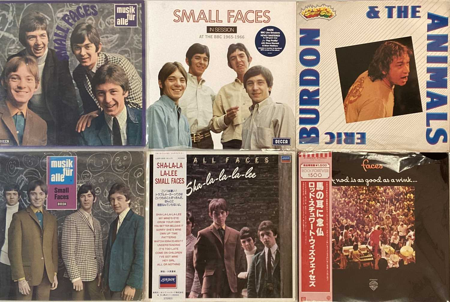 THE ANIMALS/ FACES/ SMALL FACES - LPs - Image 2 of 3
