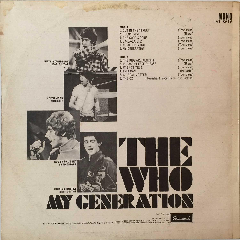 THE WHO - MY GENERATION LP (ORIGINAL UK PRESSING - BRUNSWICK LAT 8616 - Image 3 of 5