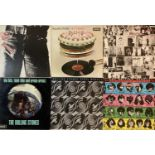 THE ROLLING STONES - LPs (PLUS A SELECTION OF ROCK LPs)