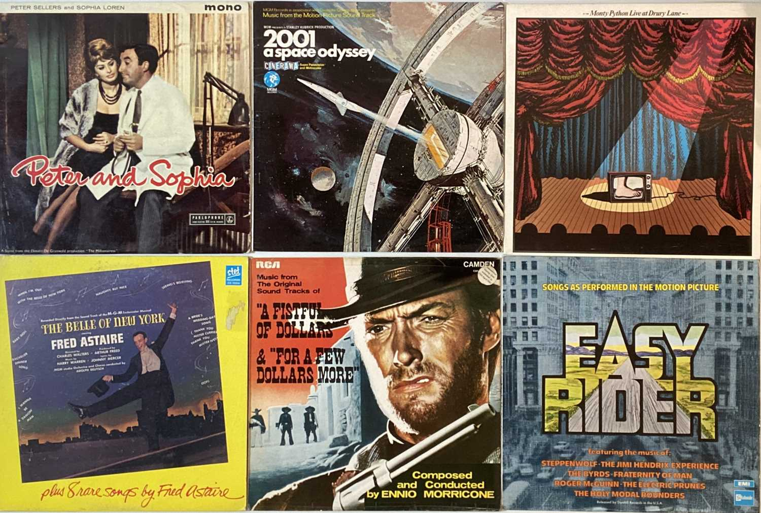 SOUNDTRACKS/ STAGE & SCREEN/ COMEDY/ SPOKEN WORD - LPs - Image 4 of 5