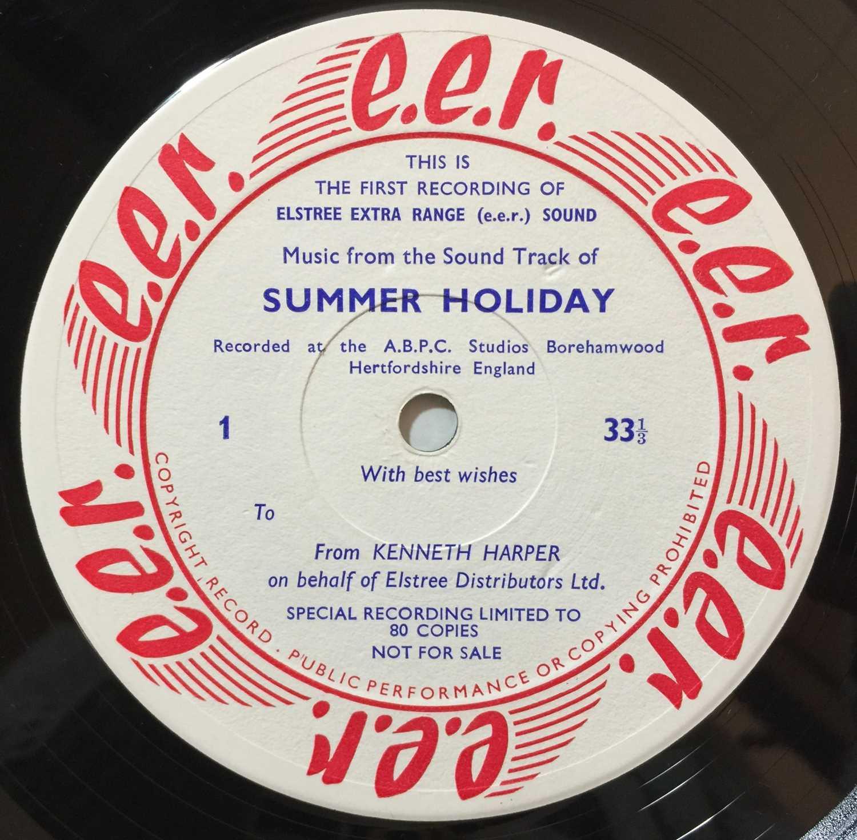 CLIFF RICHARD/ THE SHADOWS - SUMMER HOLIDAY LP (ELSTREE STUDIOS - RARE PROMO) - Image 4 of 8