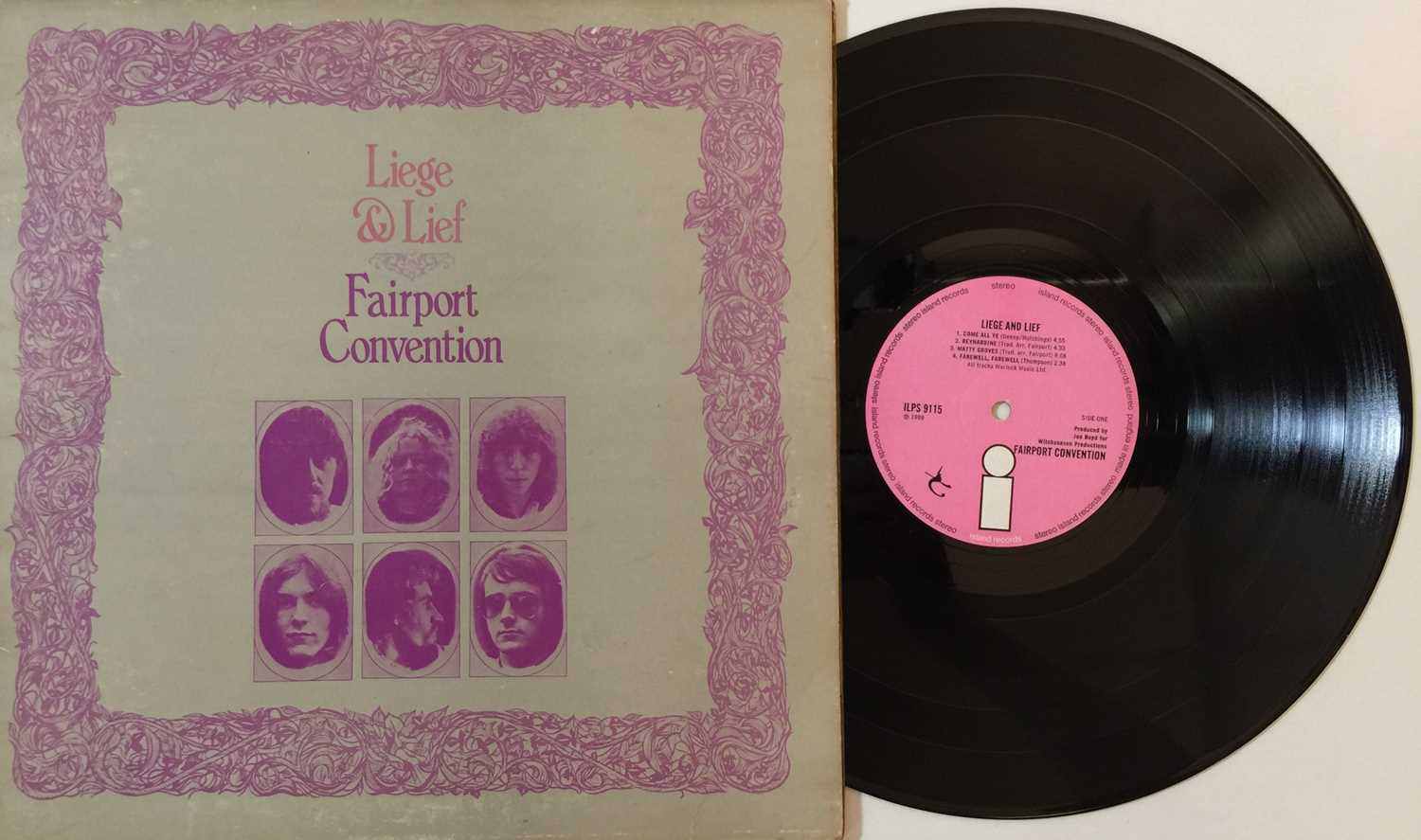 FAIRPORT CONVENTION AND RELATED - LPs - Image 4 of 4