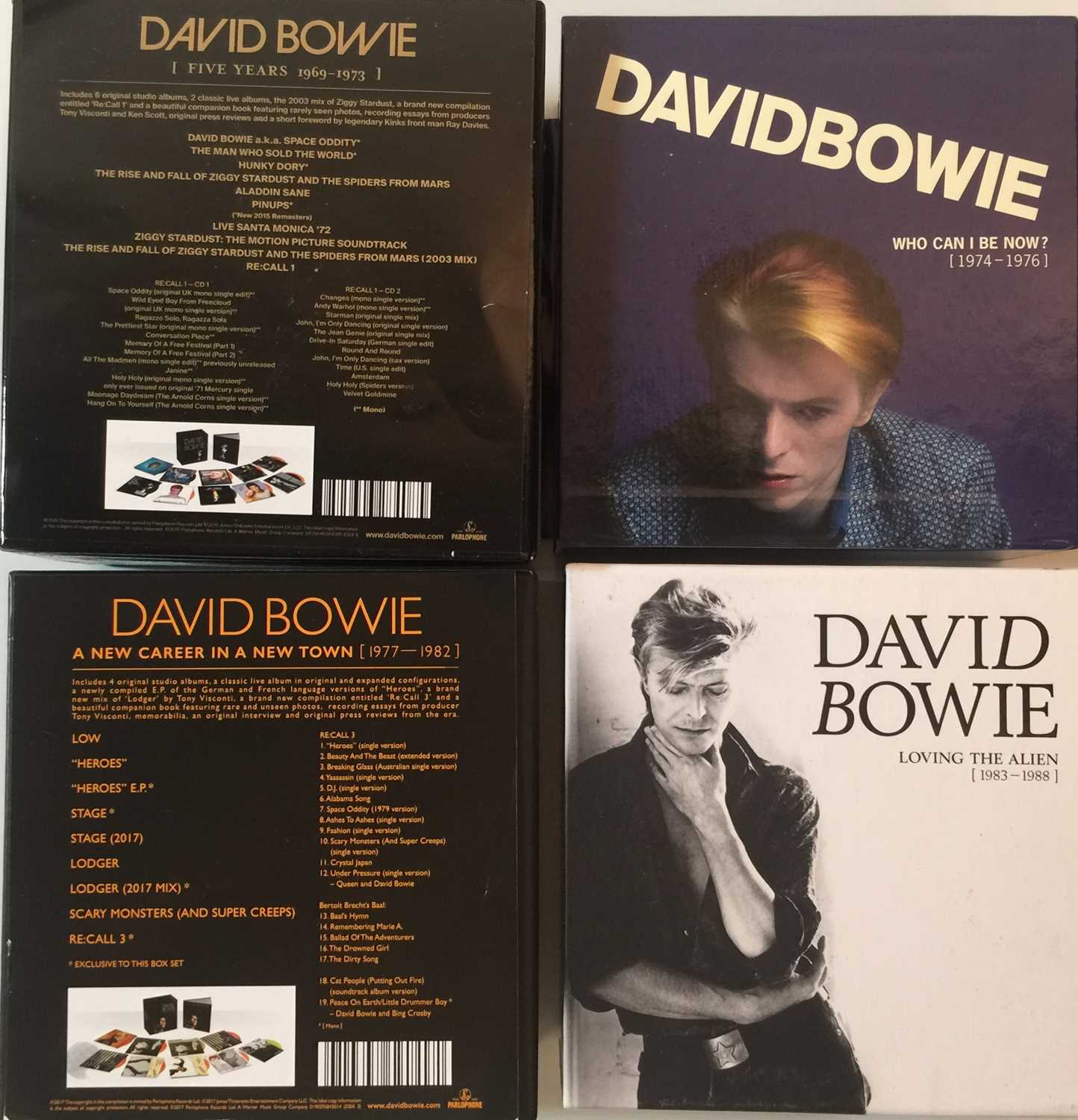 DAVID BOWIE - LIMITED EDITION CD BOX SET RELEASES - Image 4 of 8