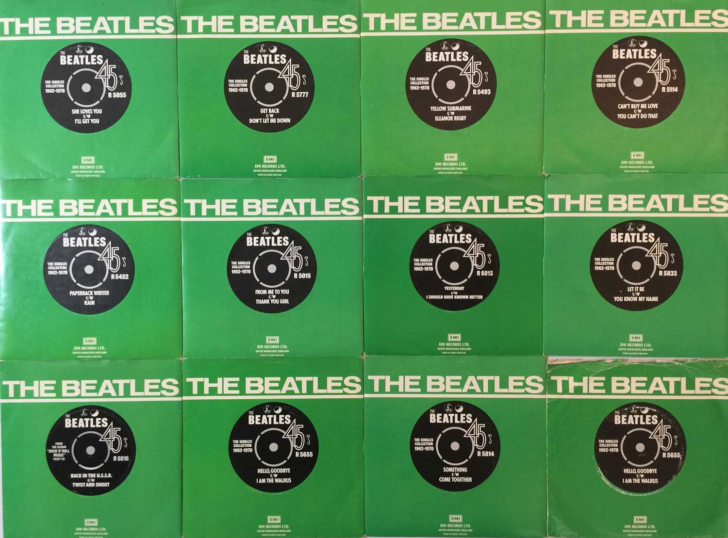 """THE BEATLES - 7"""" COLLECTION - Image 4 of 4"""