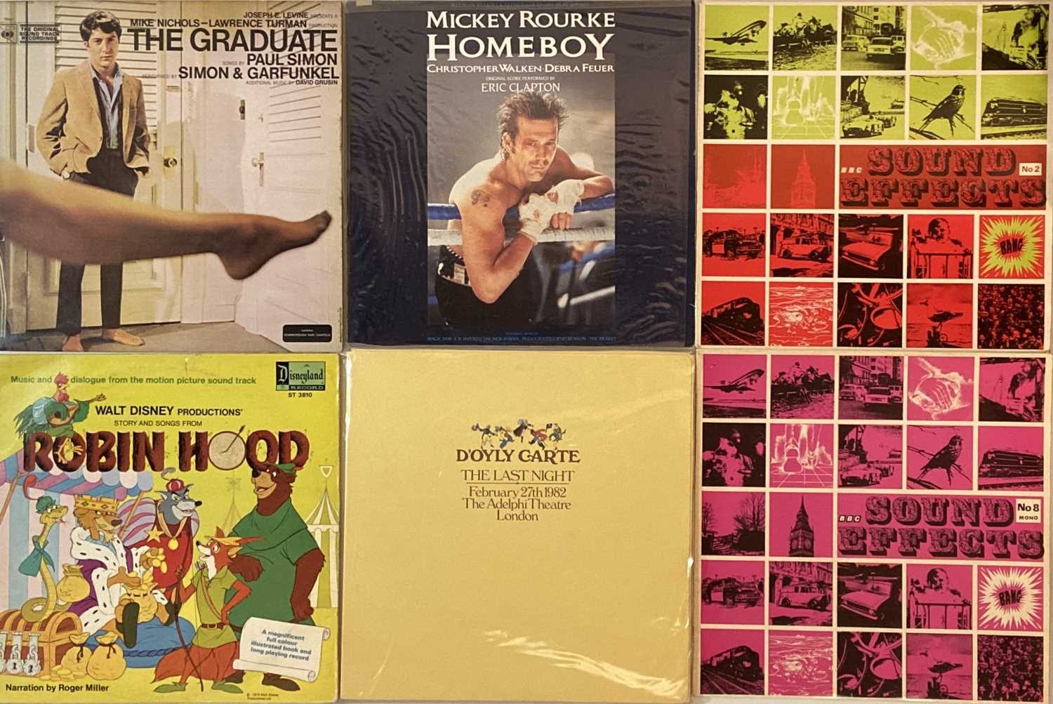 SOUNDTRACKS/ STAGE & SCREEN/ COMEDY/ SPOKEN WORD - LPs - Image 5 of 5