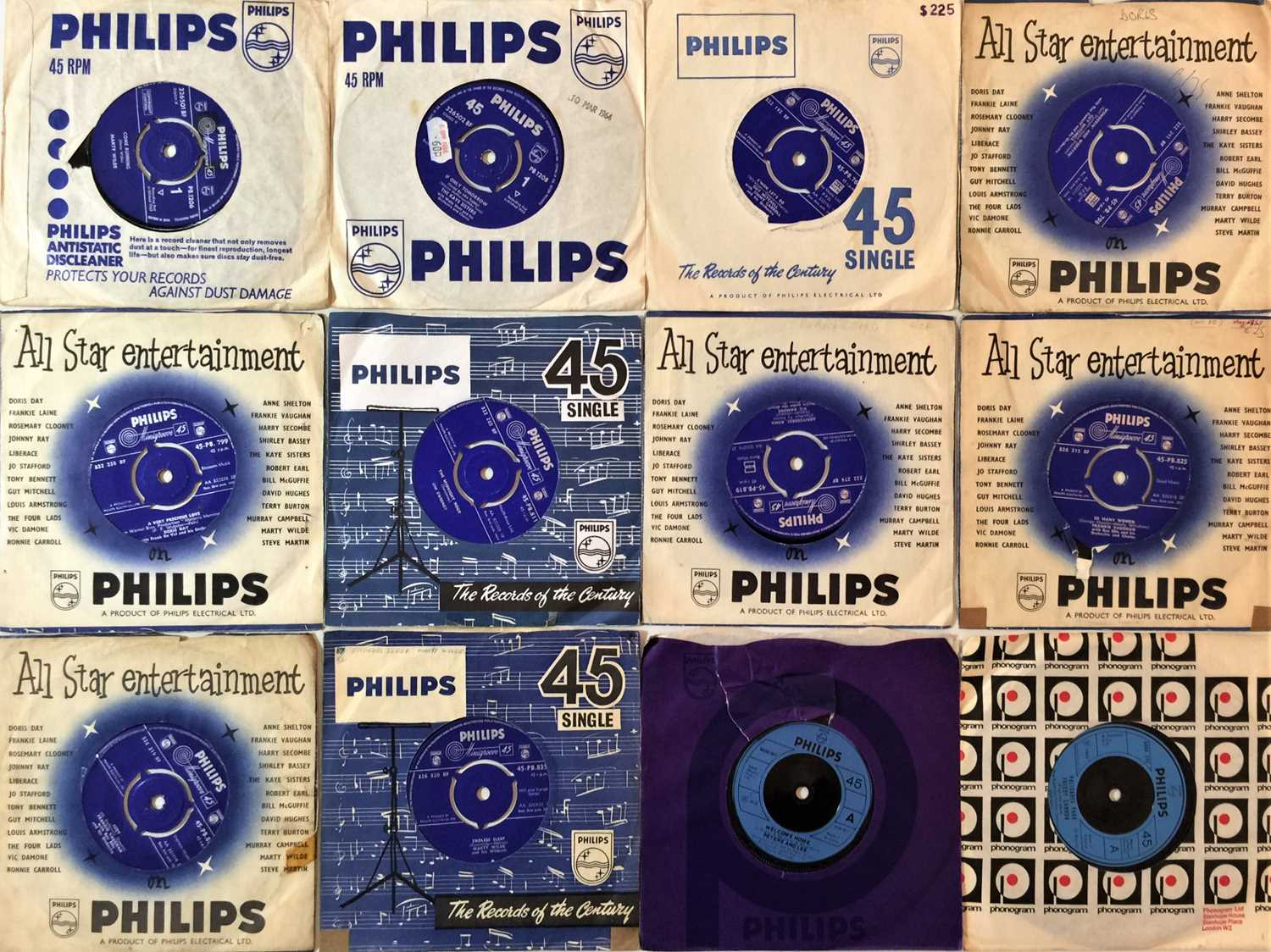 """PHILIPS - 7"""" ARCHIVE COLLECTION - Image 3 of 3"""