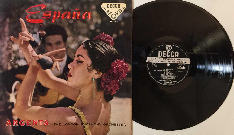 ARGENTA - ESPANA UK STEREO LP (SXL 2020 - ED1/ BLUE BORDER)