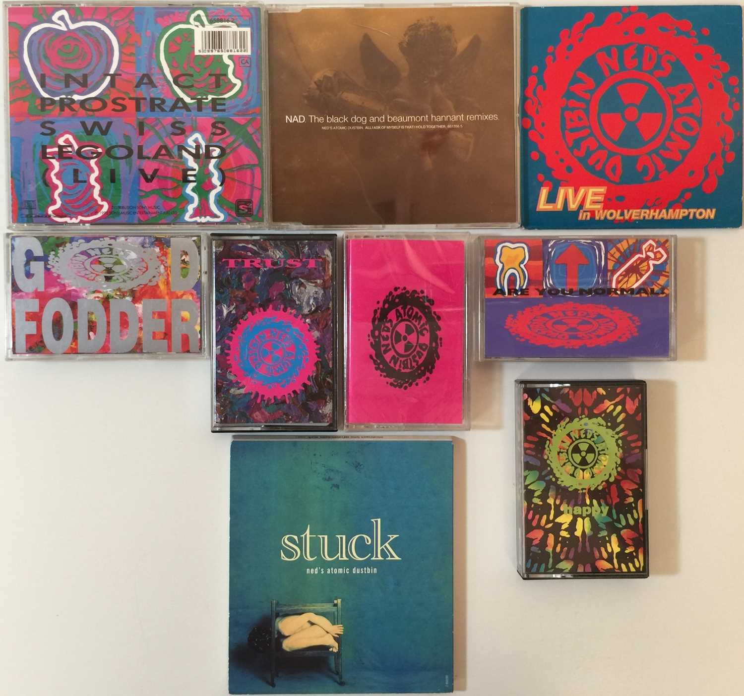 NED'S ATOMIC DUSTBIN - CD & CASSETTE COLLECTION - Image 2 of 2