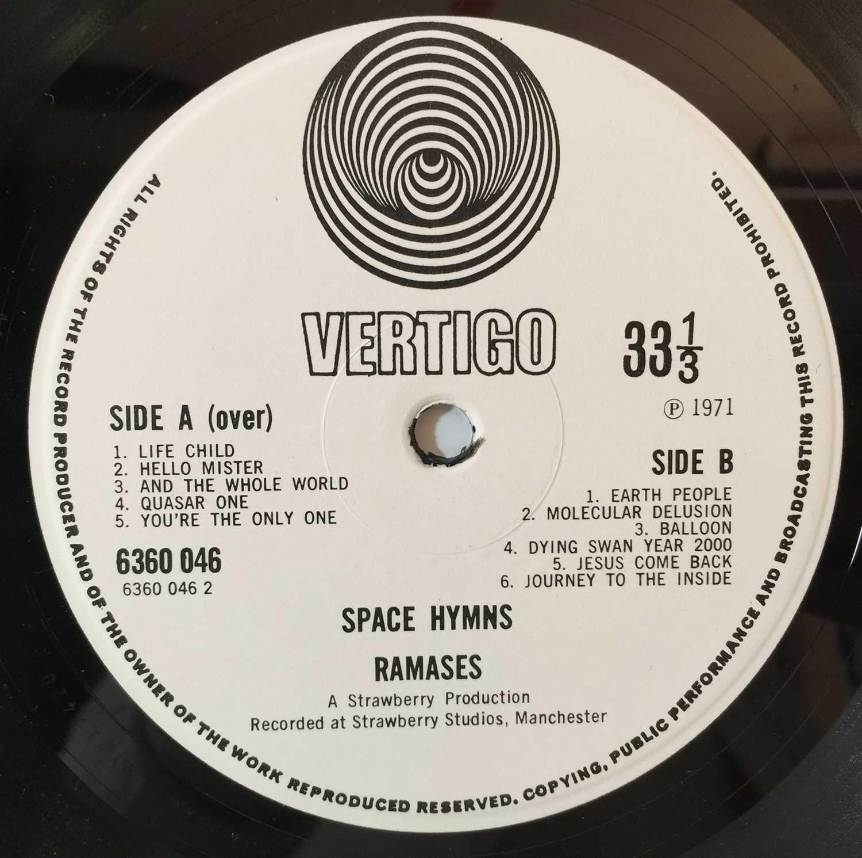 RAMASES - SPACE HYMNS SIGNED LP (UK VERTIGO SWIRL - 6360 046) - Image 6 of 6