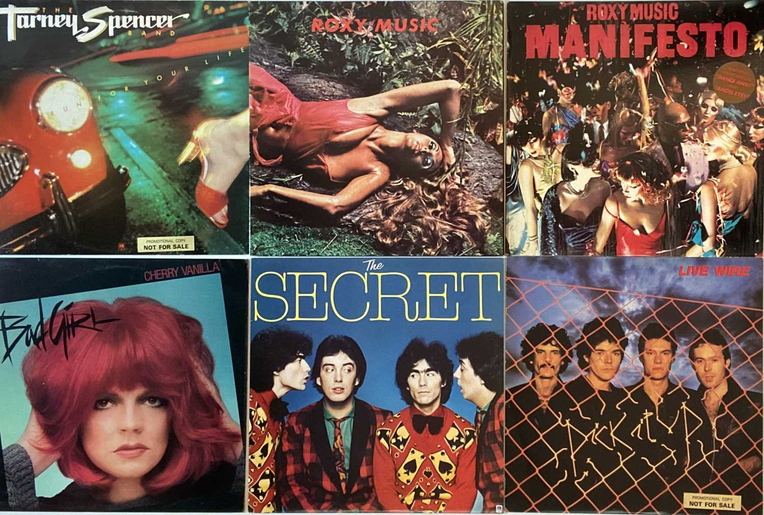 """PUNK/ WAVE/ COOL POP/ GLAM - LPs/ 12"""" - Image 3 of 6"""