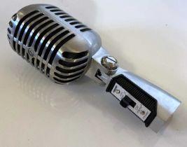 SHURE 55SH VINTAGE STYLE DYNAMIC MICROPHONE.