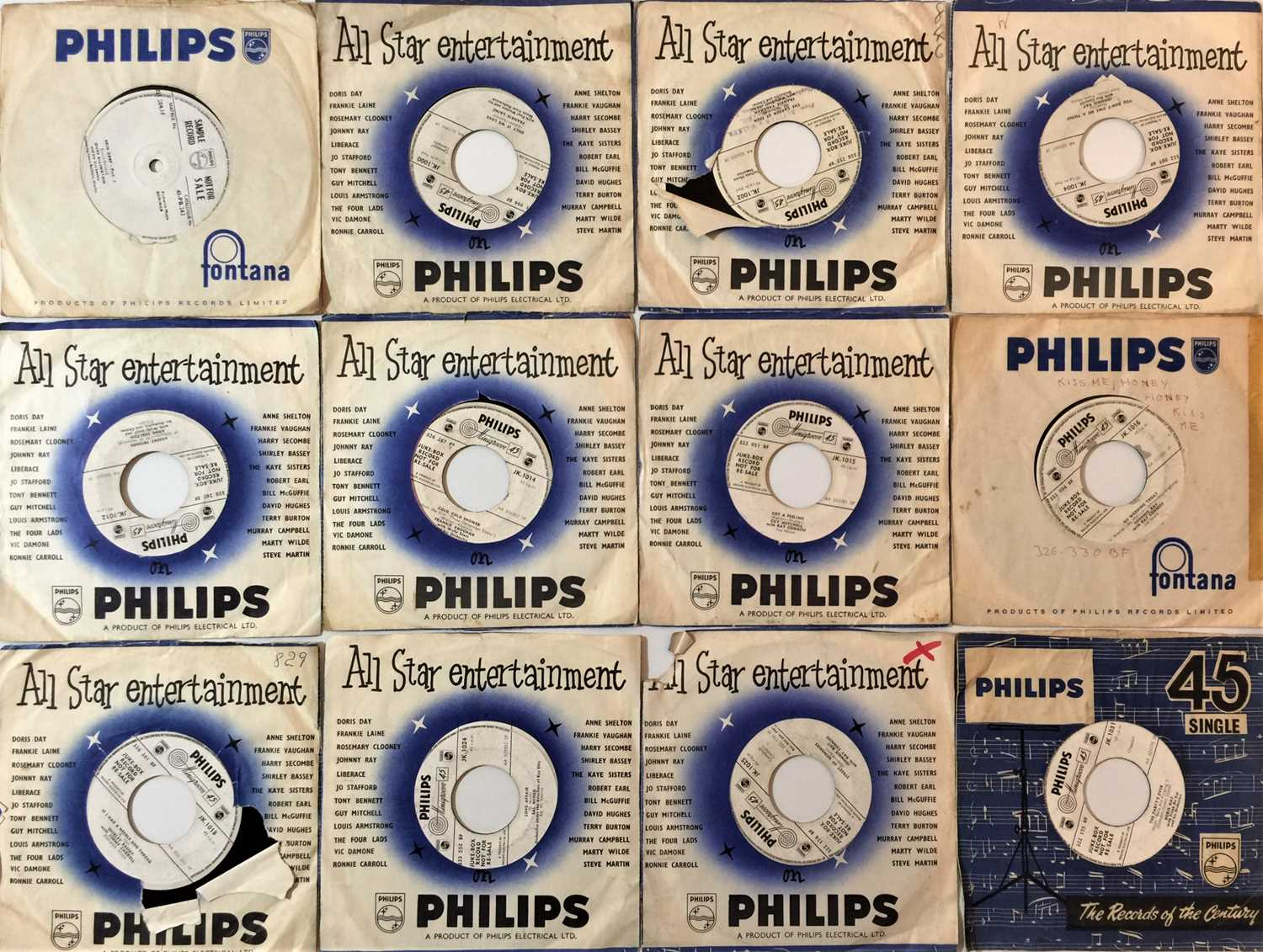 """PHILIPS - 7"""" DEMOS COLLECTION"""