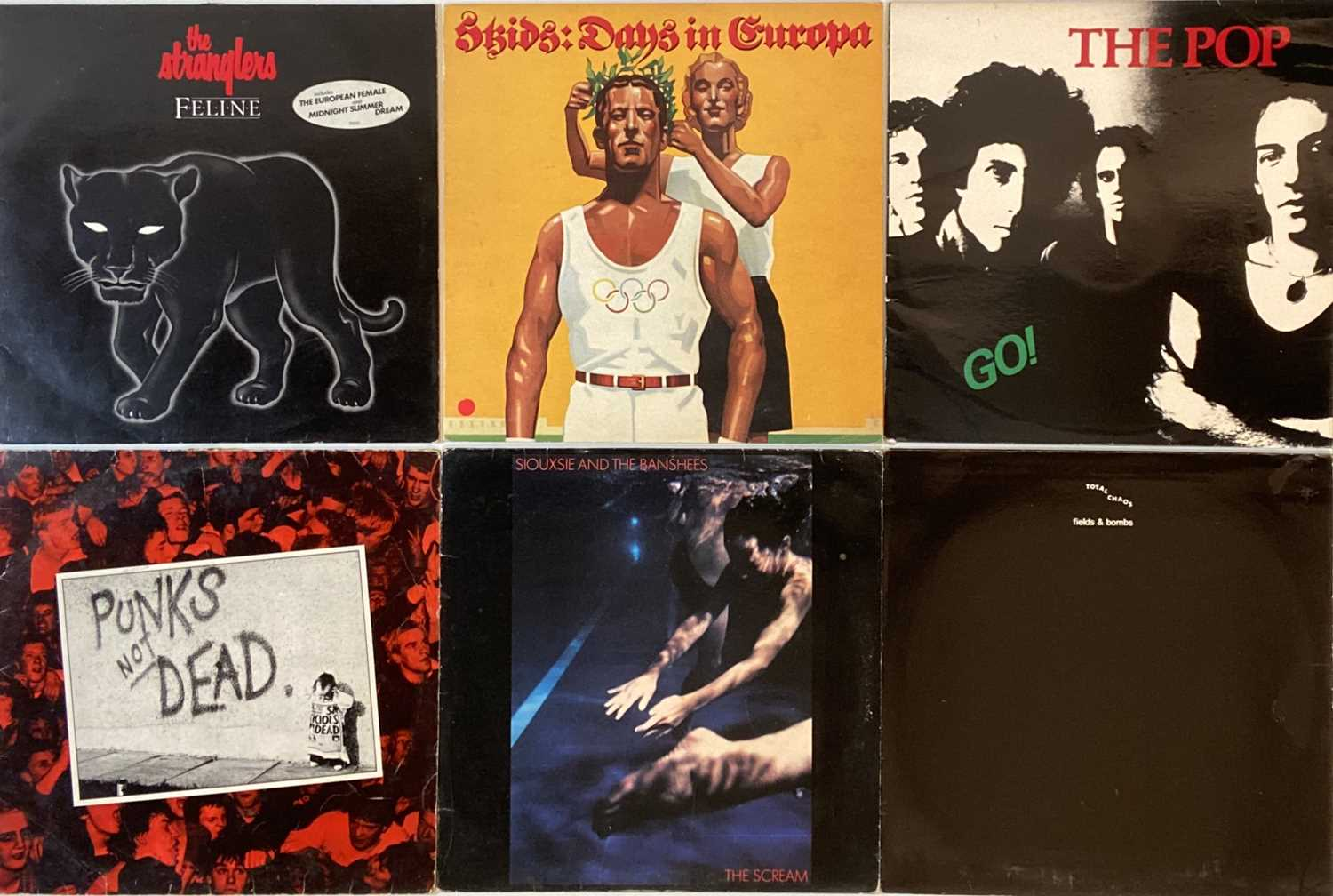 """PUNK/OI/NEW WAVE - LPs/12"""" - Image 3 of 4"""