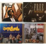 60s/ROCK CD BOX SETS PLUS RECORD COLLECTOR MAGS!