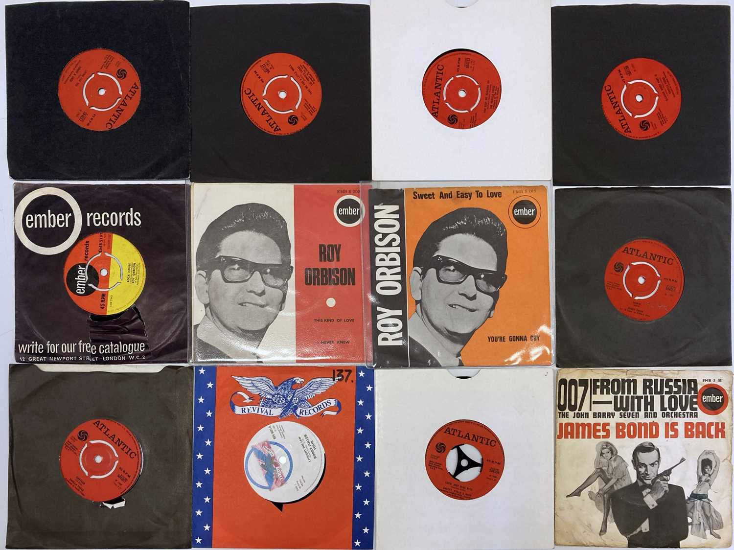 """EMBER/ATLANTIC/REVIVAL & RELATED LABELS - 7"""" COLLECTION"""