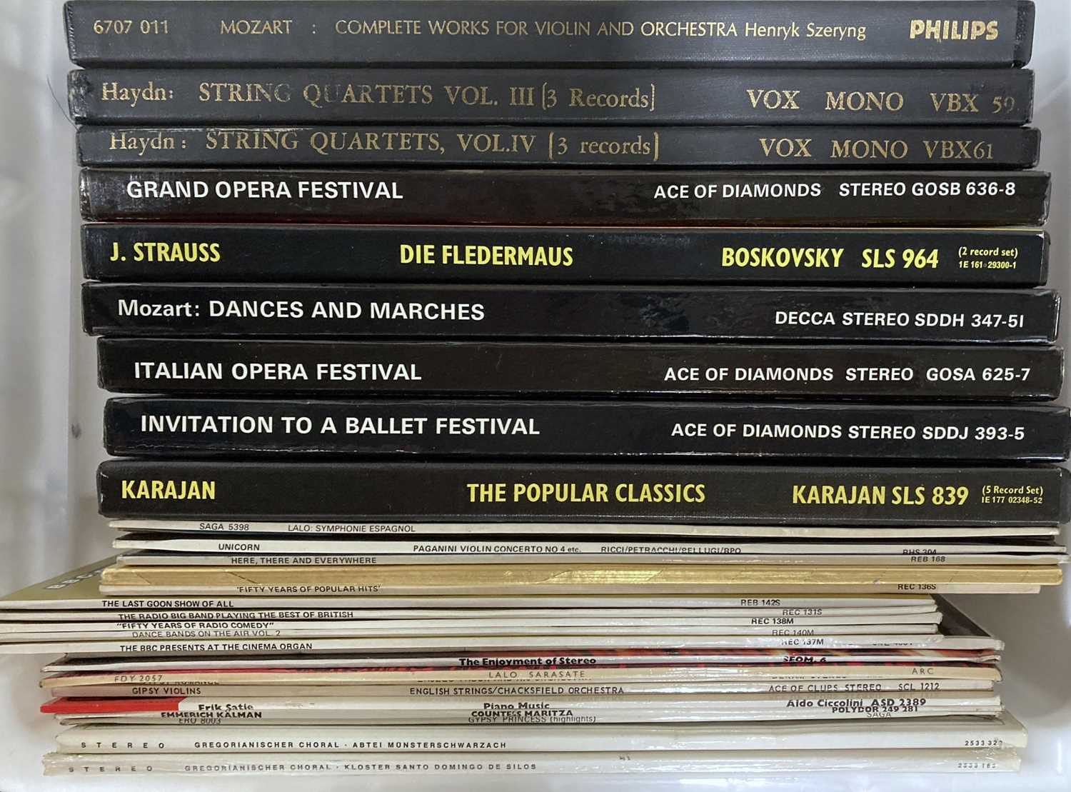 CLASSICAL - LPS, BOXSETS AND CASSETTES. - Image 3 of 5
