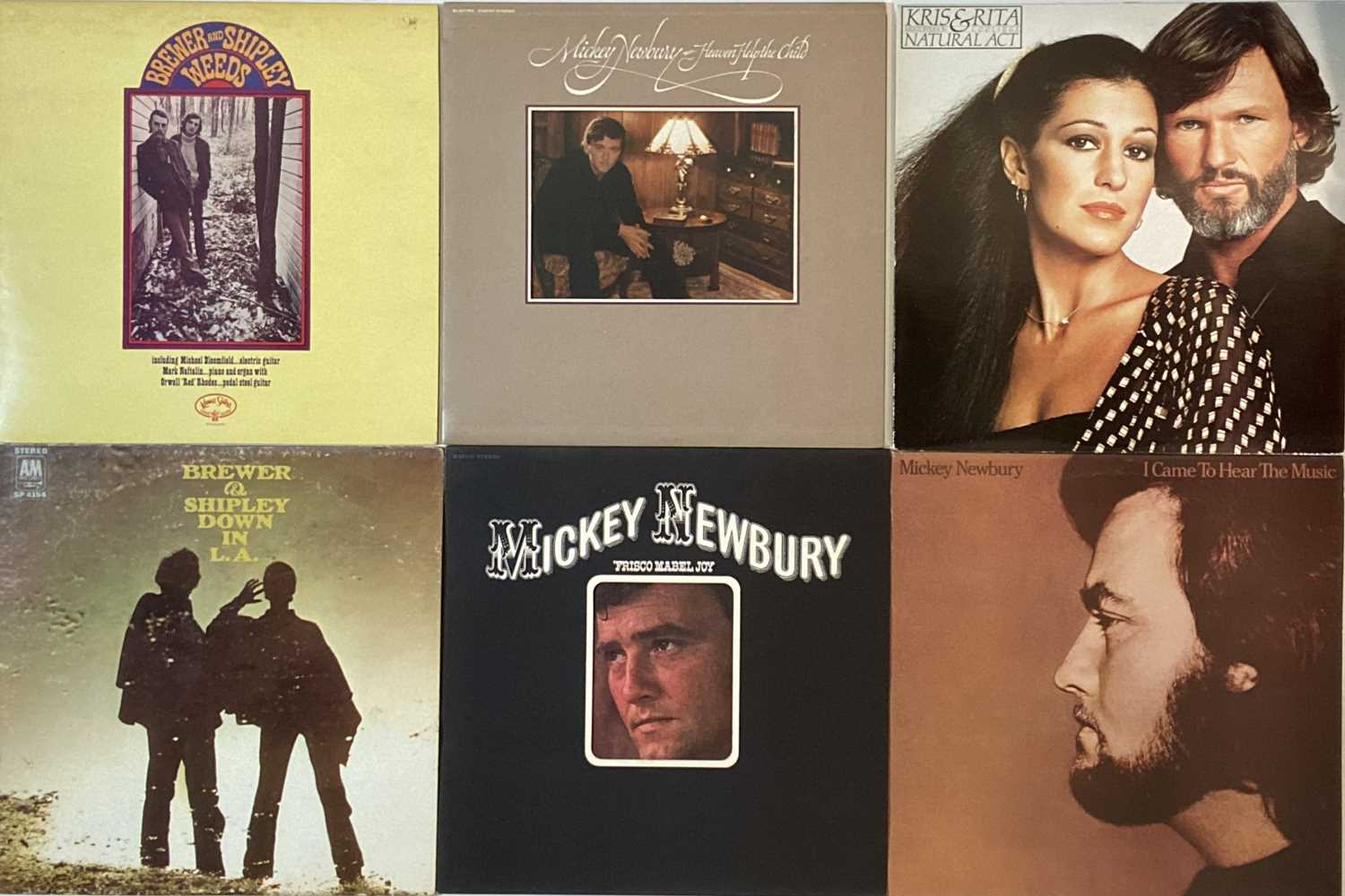 COUNTRY ROCK/R&R/AOR - LPs - Image 5 of 6