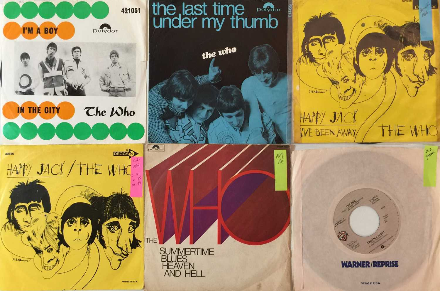 """THE WHO - OVERSEAS 7"""" COLLECTION"""