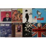 "SPOKEN WORD/POETRY/COMEDY/TV-RADIO SHOWS - LPs/10""s"