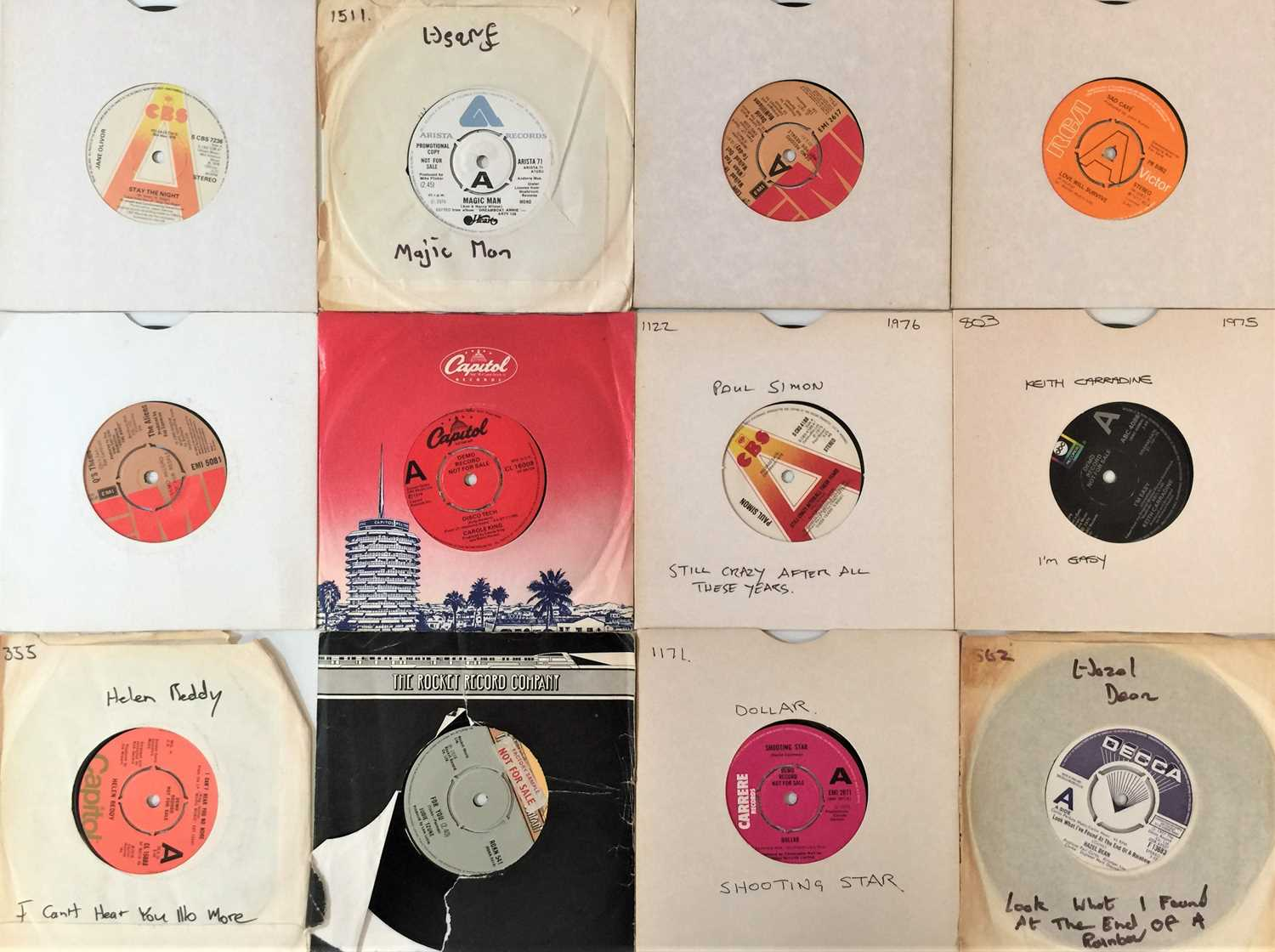"""70s POP - 7"""" PROMO COLLECTION - Image 2 of 4"""