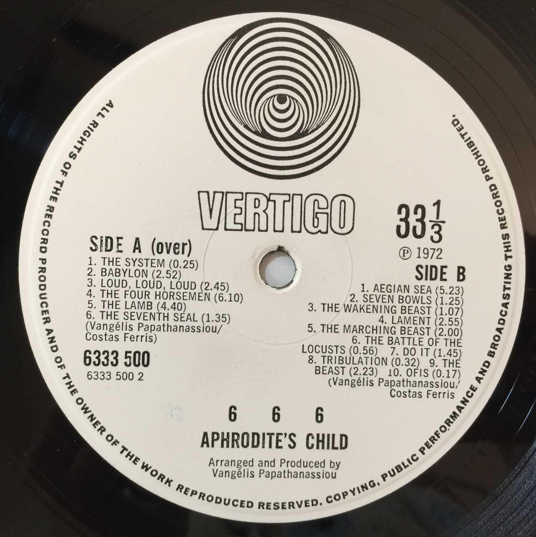 APHRODITE'S CHILD - 666 LP (ORIGINAL UK SWIRL - 6333 500/1) - Image 6 of 7