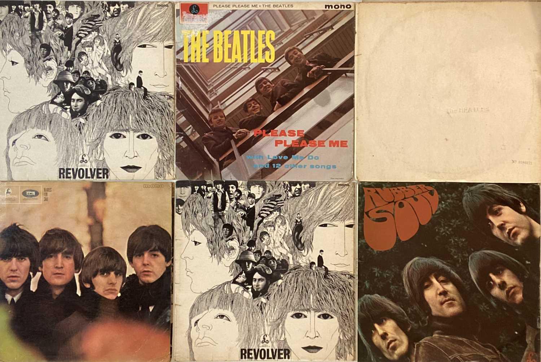 THE BEATLES - 60s UK LPs