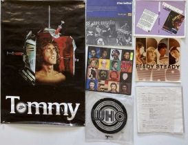 THE WHO - PROMO MATERIALS / PROOFS.