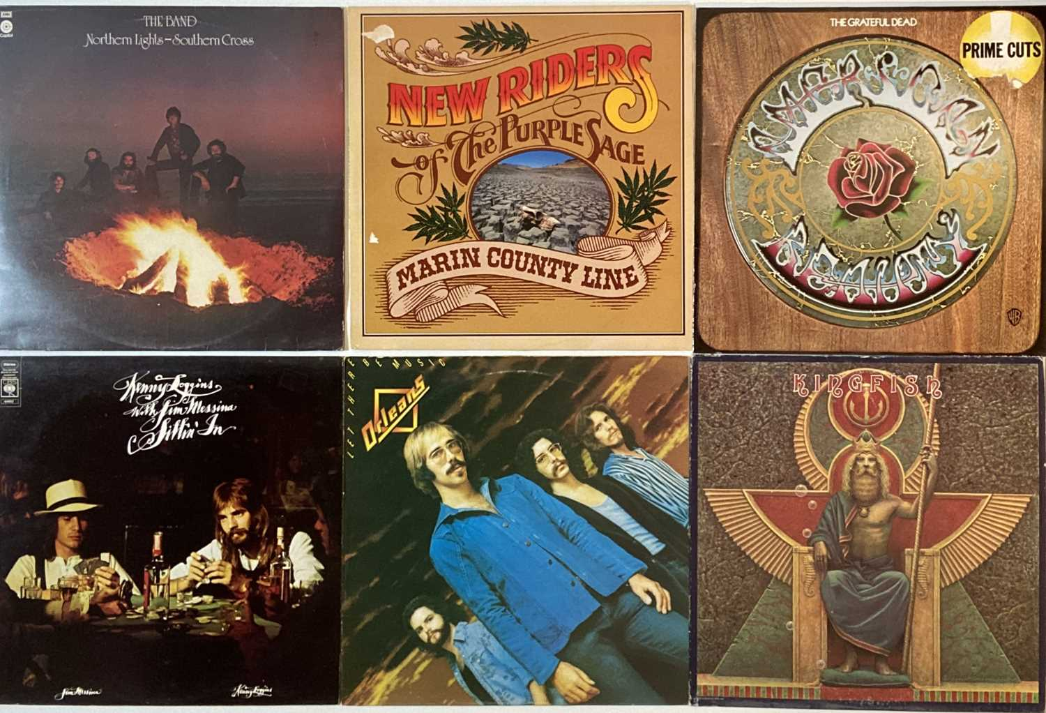 COUNTRY ROCK/R&R/AOR - LPs