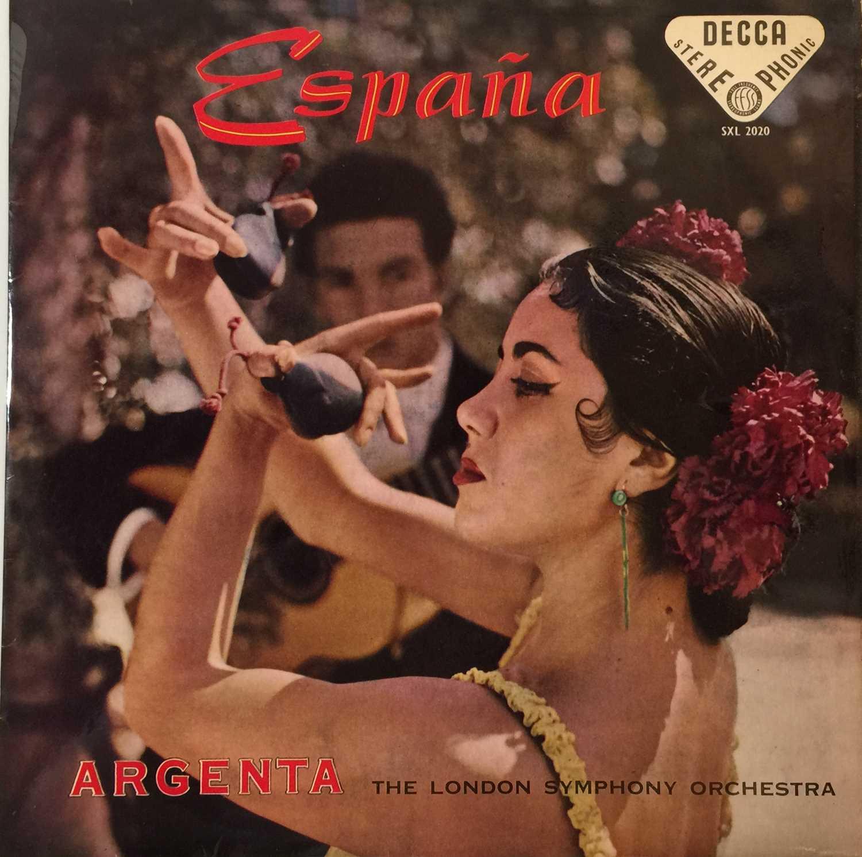 ARGENTA - ESPANA UK STEREO LP (SXL 2020 - ED1/ BLUE BORDER) - Image 2 of 5