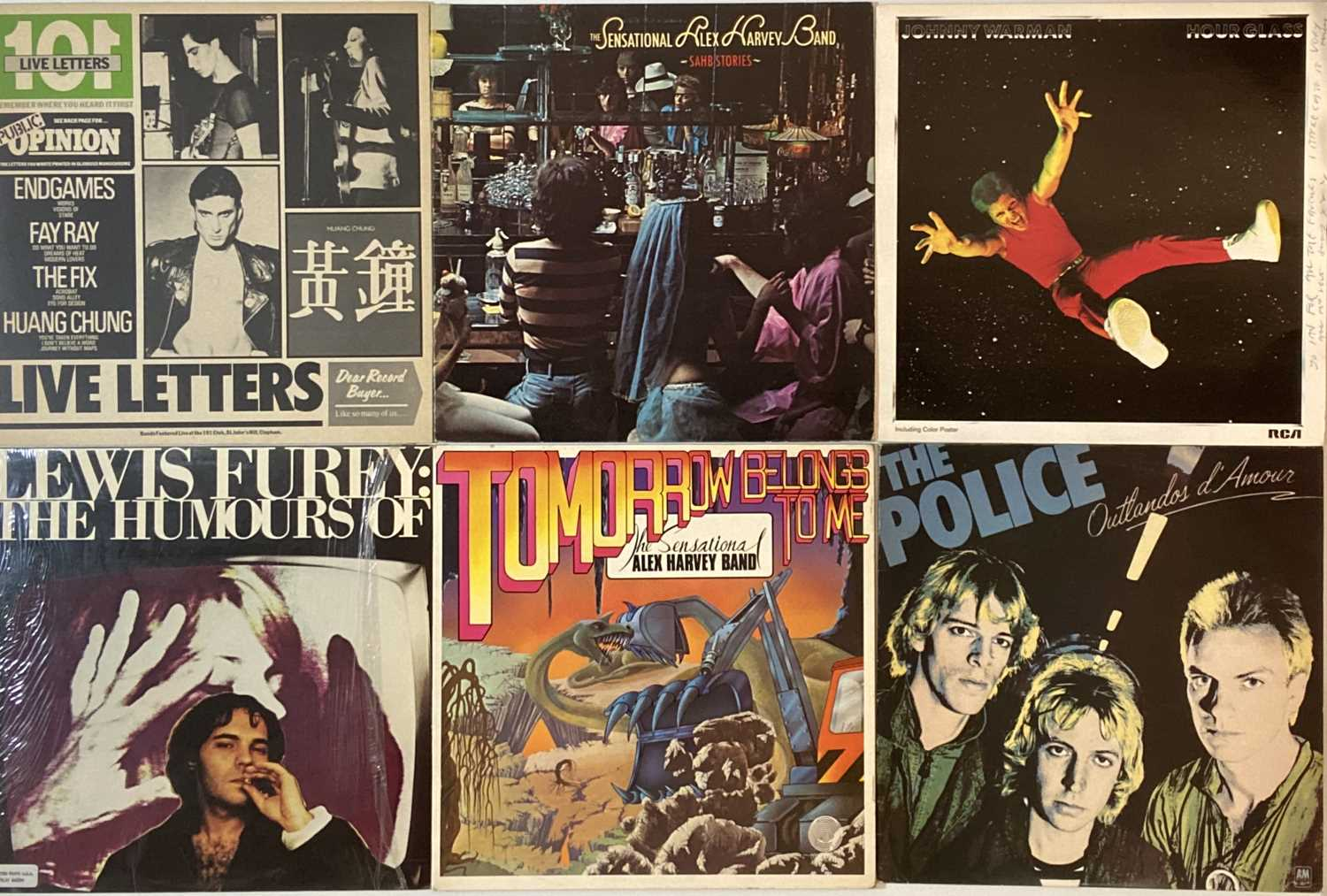 """PUNK/ WAVE/ COOL POP/ GLAM - LPs/ 12"""" - Image 4 of 6"""