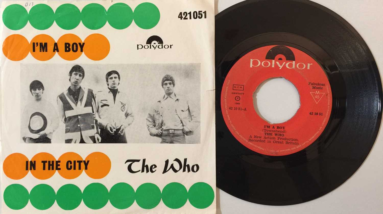 """THE WHO - OVERSEAS 7"""" COLLECTION - Image 3 of 6"""