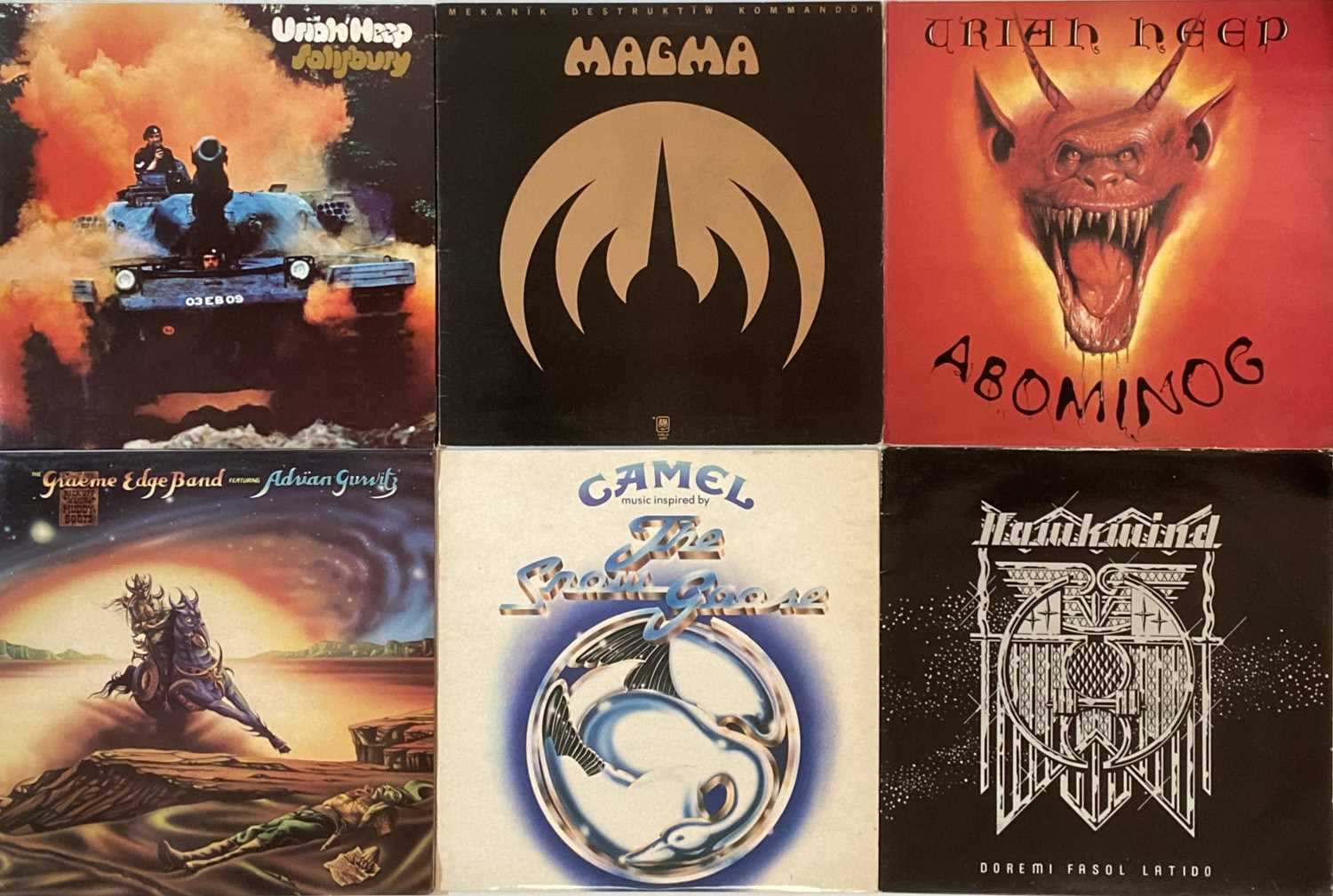 PROG/ PSYCH - LPs - Image 5 of 6