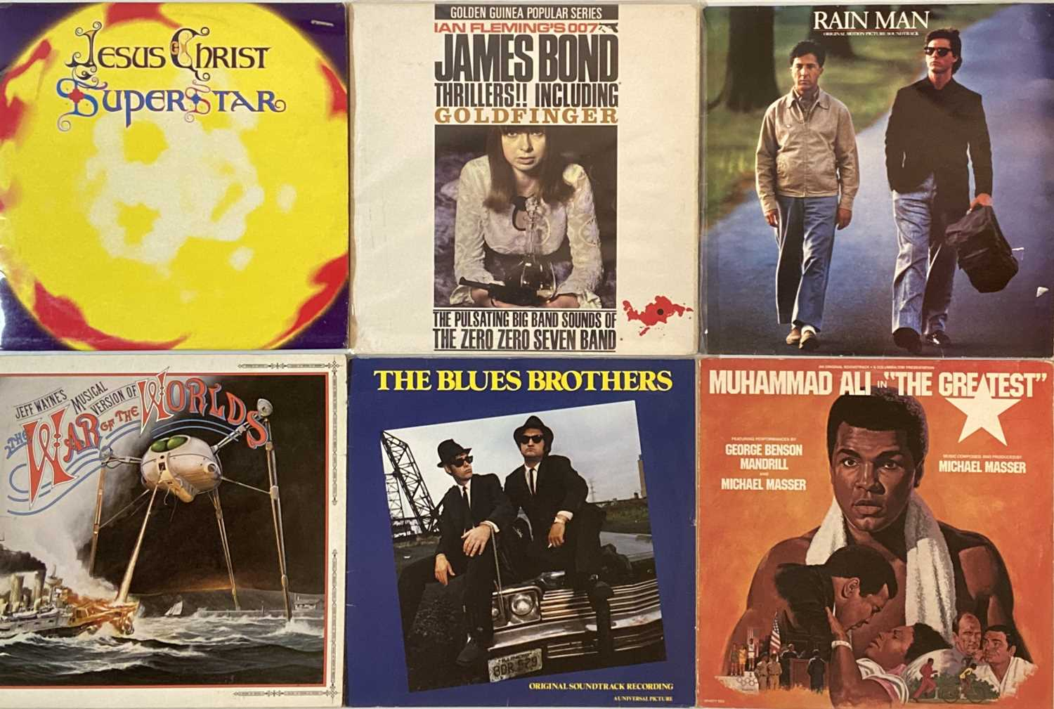 SOUNDTRACKS/ STAGE & SCREEN/ COMEDY/ SPOKEN WORD - LPs - Image 3 of 5