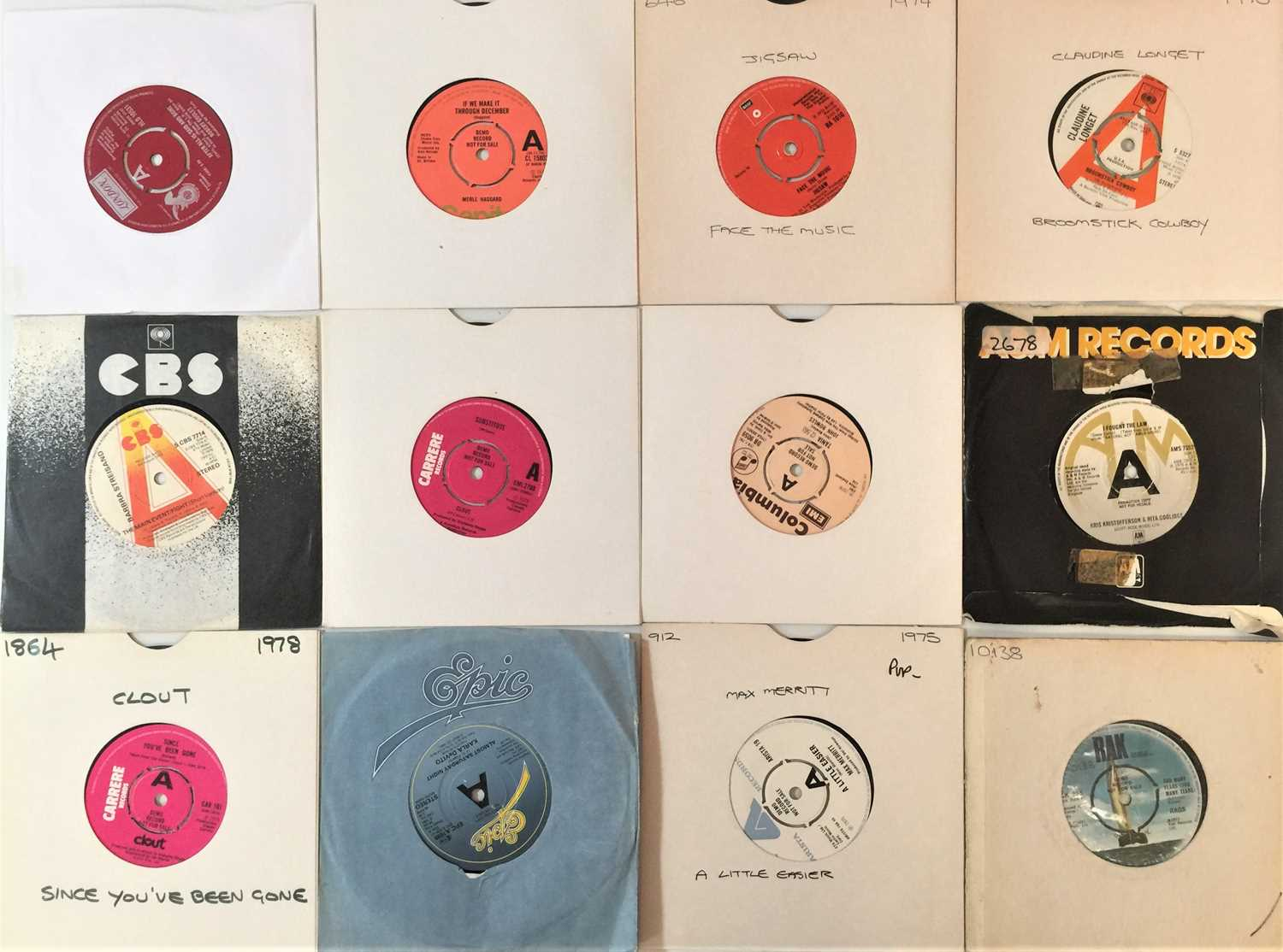"""70s POP - 7"""" PROMO COLLECTION - Image 4 of 4"""
