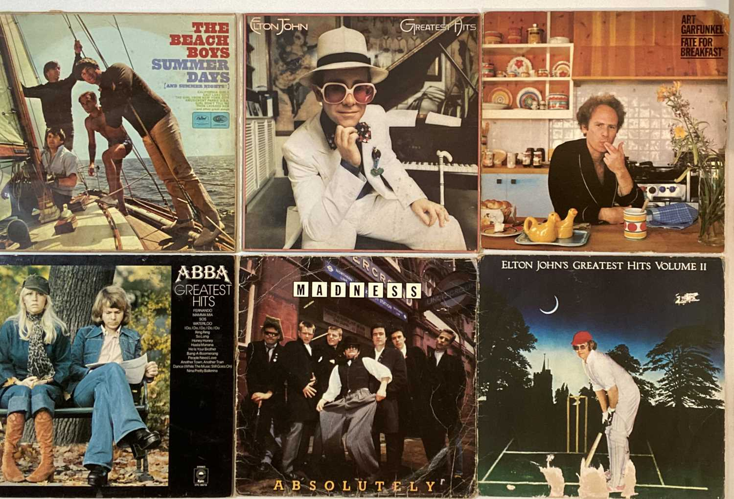"""CLASSIC ROCK AND POP - LPS AND 7"""". - Image 5 of 5"""