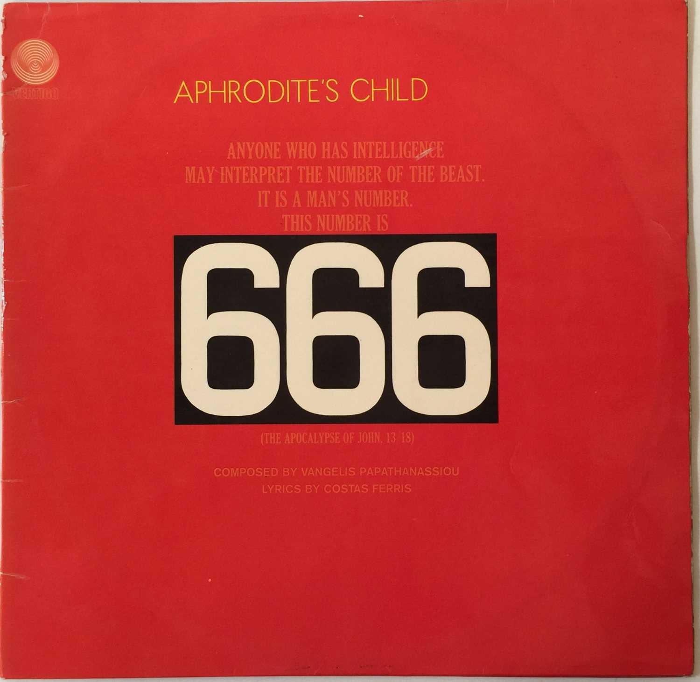APHRODITE'S CHILD - 666 LP (ORIGINAL UK SWIRL - 6333 500/1) - Image 2 of 7