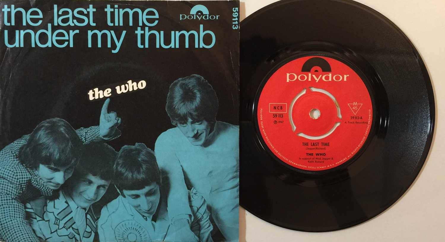 """THE WHO - OVERSEAS 7"""" COLLECTION - Image 5 of 6"""