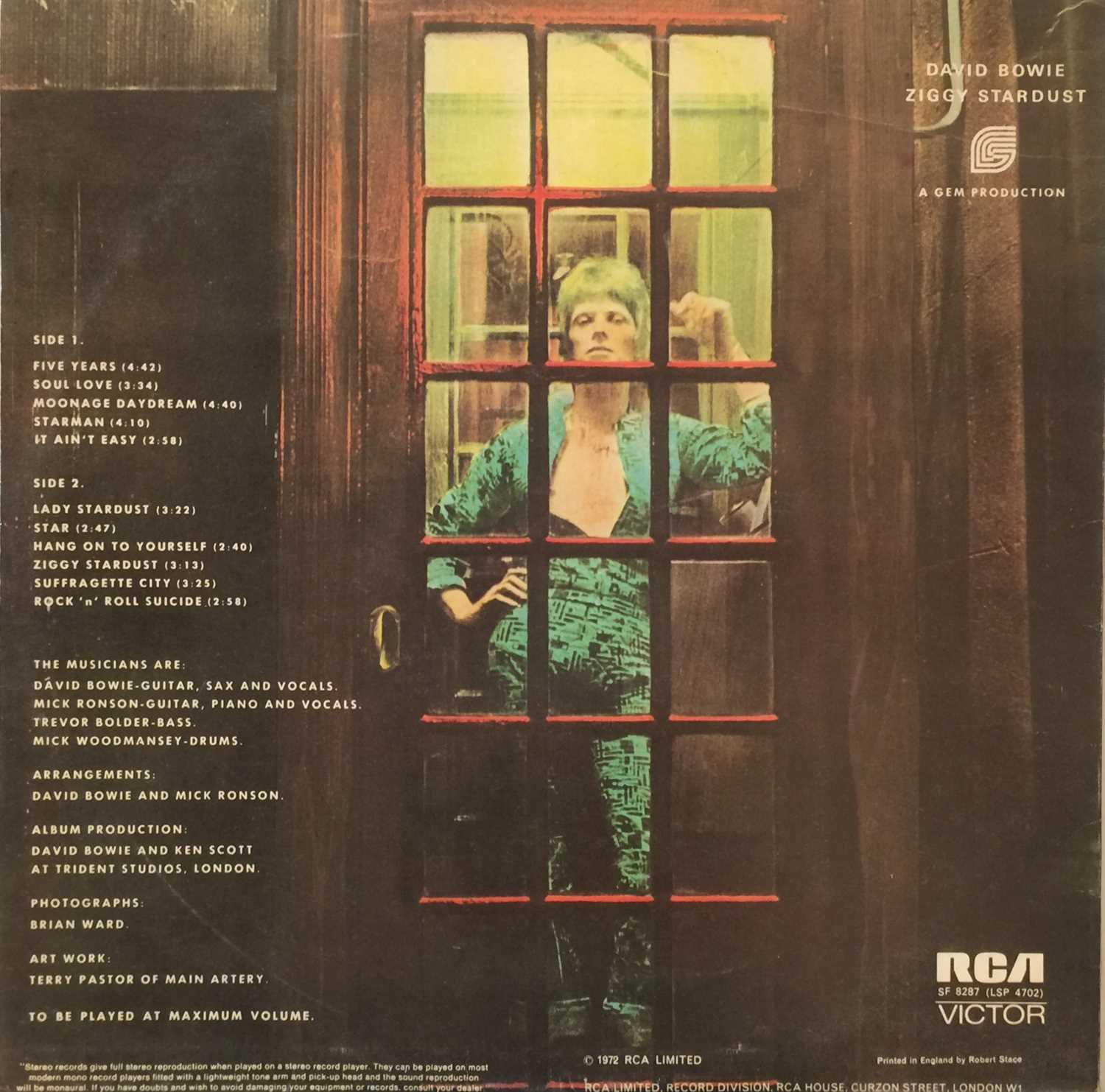 DAVID BOWIE - UK PRESSING LP COLLECTION - Image 7 of 7