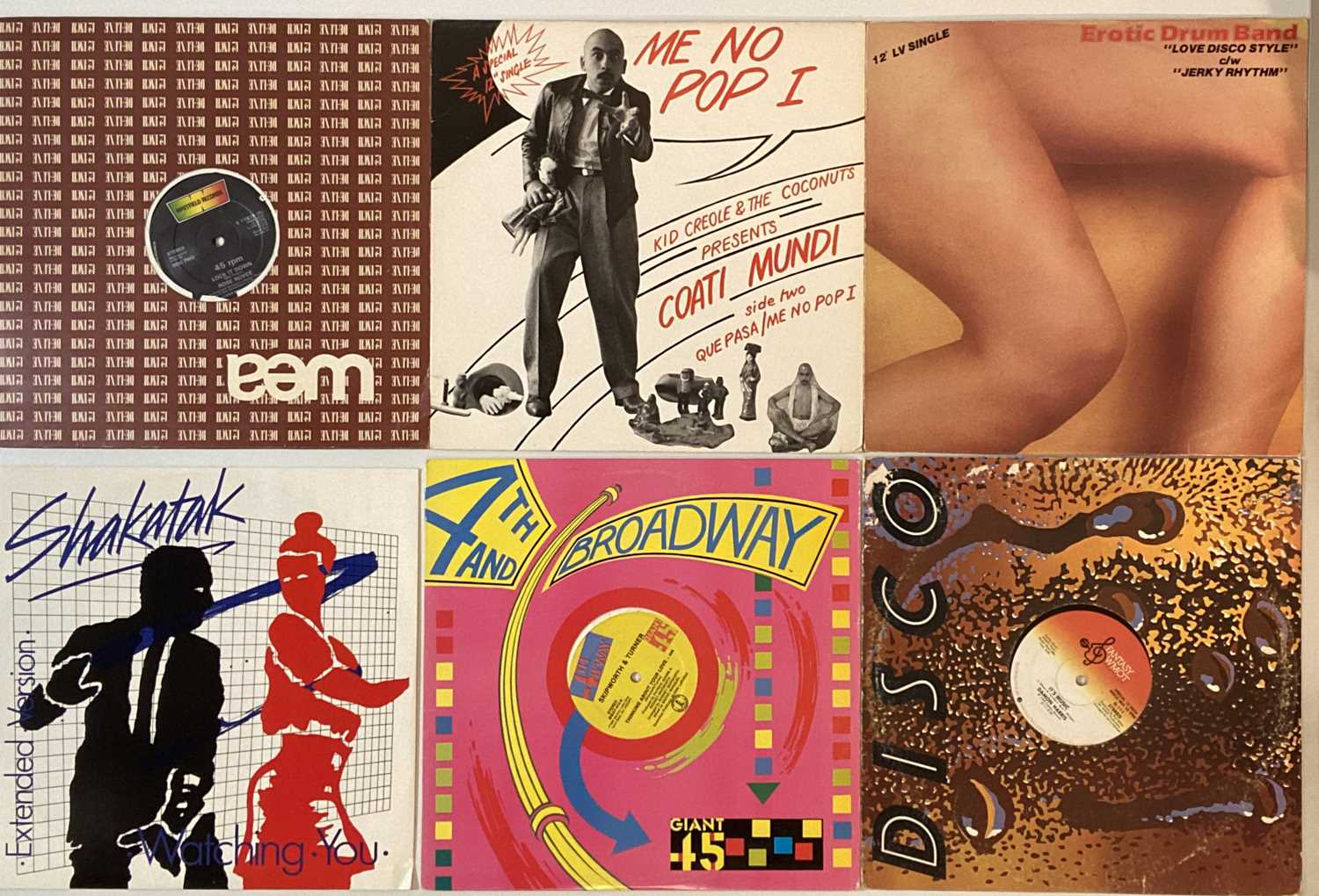 """SOUL/ FUNK/ DISCO - 12"""" COLLECTION - Image 5 of 5"""
