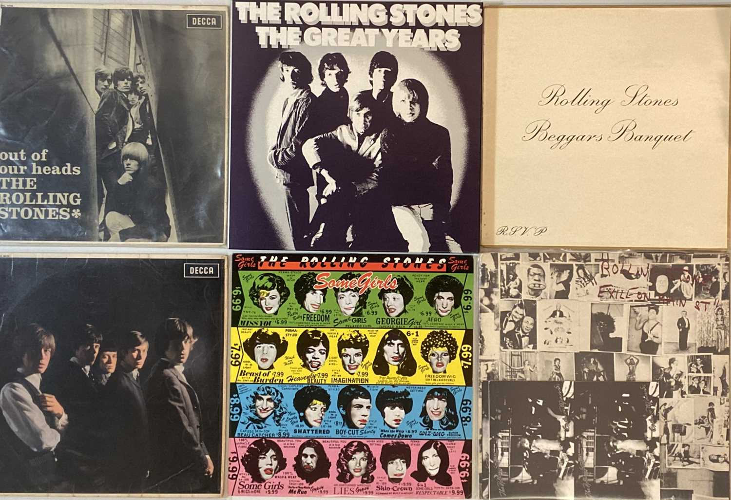 THE ROLLING STONES - LPs