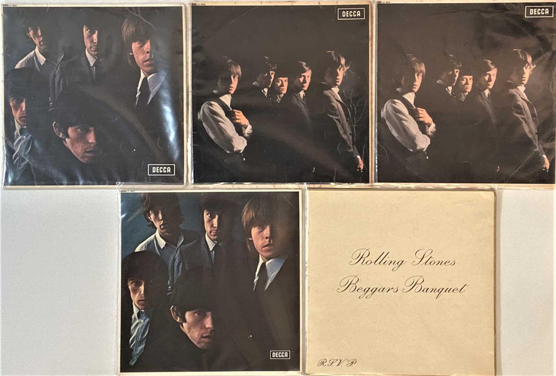 THE ROLLING STONES - 60s LPs (WITH UK ORIGINALS)