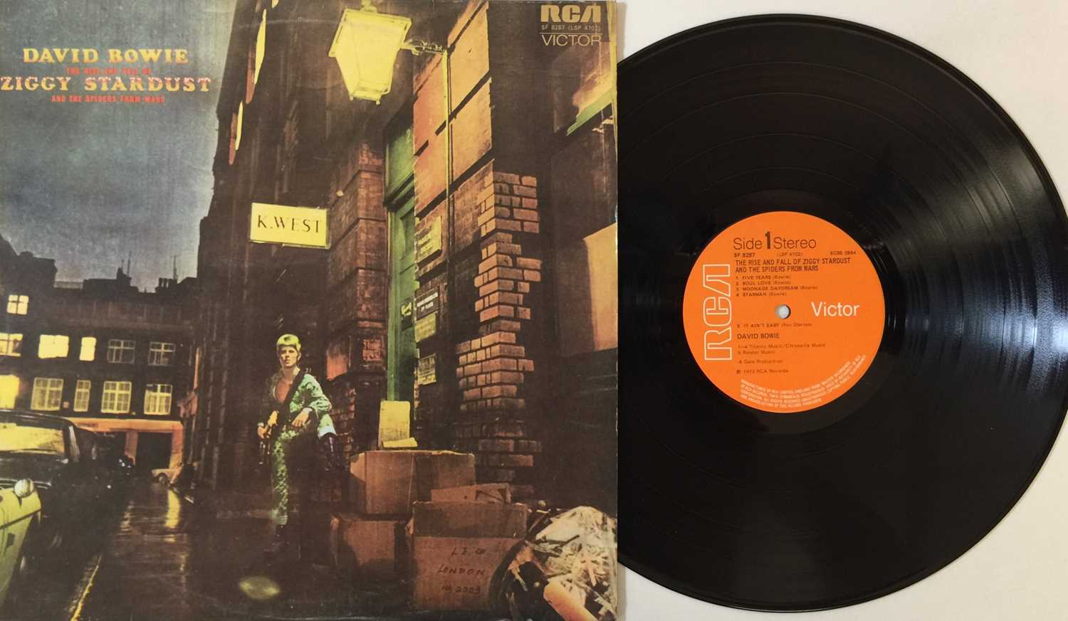 DAVID BOWIE - UK PRESSING LP COLLECTION - Image 6 of 7