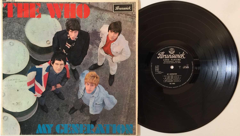 THE WHO - MY GENERATION LP (ORIGINAL UK PRESSING - BRUNSWICK LAT 8616